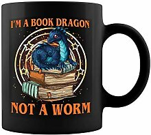shenguang I'm A Book Dragon Not A Worm Ceramic