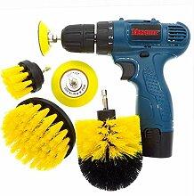 shengzekun Scrubber Brush 5Pcs Drill Power Voll