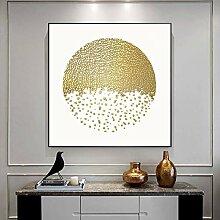 SHENLANYU Abstrakte goldene Luxusplakate Drucken