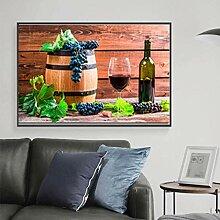 SHENLANYU Modernes Zuhause einzelne Rotweinfrucht
