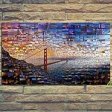 SHENLANYU San Francisco Travel Dense Bridge