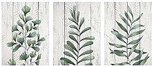 SHENLANYU Tropische Blätter Botanisches