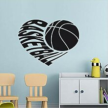 Shentop Basketball Wandaufkleber Jungen Zimmer