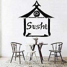 Shentop Wand Vinyl Sushi Wasserdichte