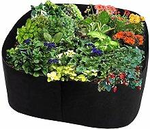 Shenye Pflanzsäcke aus Vliesstoff, Garten Beet