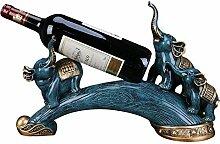 shh Einfache und Kreative Weinregal Blue Elephant