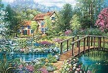 SHHII 300 Stück Holz Puzzle Landschaft