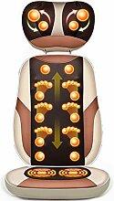 Shiatsu-Rückenmassagekissen mit beheiztem Nacken,