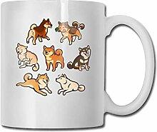 Shibes In Sahne Kaffee & Tee Keramik Tasse Becher