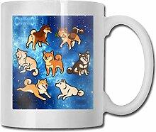 Shibes In Sahne Kaffee Tee Keramik Tasse Becher