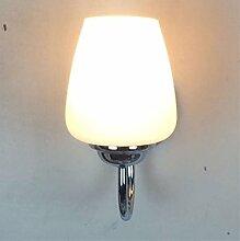 SHIEND Spiegel Lampe Bedside Led Lampe Modernes Glas Wohnzimmer Treppe Größe: L 130* W130*H 150 (Mm)