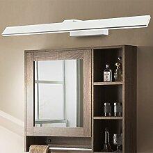 SHIEND Vor dem Spiegel Lampen-led wasserdicht Beschlagfrei wc Nordic Spiegelleuchte bad Spiegel Schränke Licht modernen minimalistischen Wc, 42cm weiß weiß 8 W576)