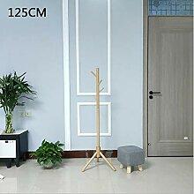 SHIN Stabiler Garderobenständer aus Holz Eingang