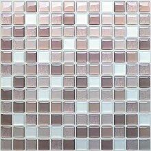 SHINGONE 3D Fliesenaufkleber Mosaik Wandaufkleber