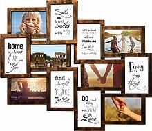 Shinsuke Helsinki Kupfer Collage Bilderrahmen