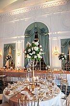ShinyBeauty 24x120 in-Pailletten Table Runner-Blush Pink, Glitzer Pailletten Tisch Läufer runden Pailletten Tuchgewebe in Romatin schmücken glänzen Hochzeit glücklich Party Banquet Dinner-60x300cm