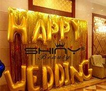 ShinyBeauty Gold-Folie Fringe Hintergrund-12FTX8FT, Sparkly Folie Bar Dekoration Vorhang Potography Hintergrund schimmern Dekoration
