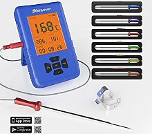 SHINYEVER Grillthermometer, Bluetooth