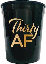 ShipMyParty Partybecher zum 30. Geburtstag,