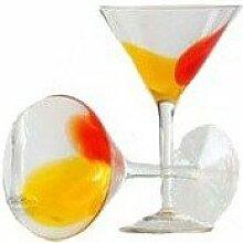 Shiraleah Marakesch Martiniglas, 4 Stück