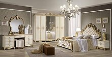 SHIRIN Schlafzimmer Kombination Barock Design Bett