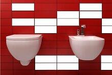 ShirtInStyle FLIESENAUFKLEBER Fliesen Folien Aufkleber Bad Küche Spiegel Renovieren 20x25cm 322Stück