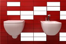ShirtInStyle FLIESENAUFKLEBER Fliesen Folien Aufkleber Bad Küche Spiegel Renovieren 20x25cm 259Stück