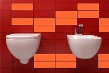 ShirtInStyle FLIESENAUFKLEBER Fliesen Folien Aufkleber Bad Küche Spiegel Renovieren 20x25cm 294Stück