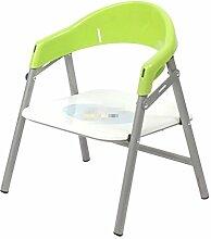 SHISHANG Zusammenklappbarer Kinderstuhl zurück Bank Babystuhl Stuhl Kindergarten Esstische und Stühle Antirutschumweltschutz Sichere Multicolor Auswahl