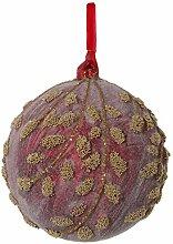 SHISHI · Christbaumkugel Blätter gezuckert ·