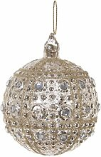 SHISHI · Christbaumkugel DIAMONDS gepunktet ·