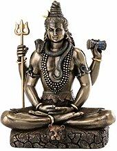 CRAFTSTRIBE 26,7/cm Natraj Lord Shiva Dancing Idol statua