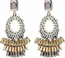 SHIZHESHOP Frauen Crystal Earing Geschenk für