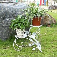 SHJC Blumenständer aus Eisen, Badregal