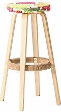 ShJttt-chair or stool Massivholz Bar Stühle Bar