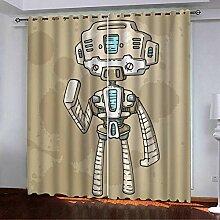 shkdif Schlafzimmer 3D Verdunkelungsvorhänge