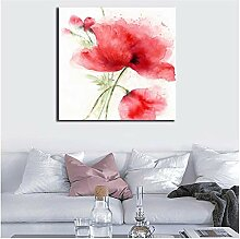 SHKHJBH Kunstwände Abstrakte Blütenblattblumen