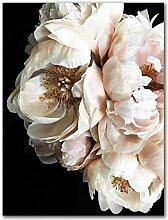 SHKHJBH Modernes Plakat Schöne weiße Blume
