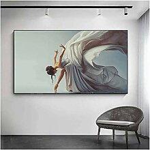SHKHJBH Wandkunst Bilder Leinwand Malerei HD-Druck