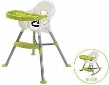 ShLYXY Babystuhl, für Kinder, lange Beine,