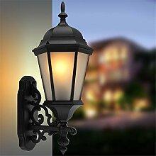 SHNHJ Außenwandleuchte Wandlampe antike