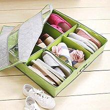 shoe box Bambus Carbon Schuhkarton_Kleider Schuhe