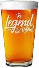 Shop4Ever Bierglas mit Lasergravur für Männer