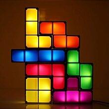 Shopinnov Lampe Tetris 3D veränderbar