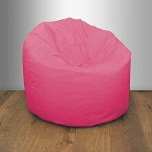 Shopisfy groß Kinder & Teen Wasserdicht Stoff Sitzsack, Erhältlich in 10 Farben und Verschiedene Packungsgrößen - Rosa