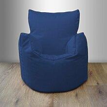 Shopisfy Kinder / Kleinkinder Wasserfest Innen Außen Sitzsack Sessel Gamer, Erhältlich in 10 Farben und Verschiedene Packungsgrößen - Blau