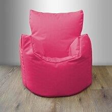Shopisfy Kinder / Kleinkinder Wasserfest Innen Außen Sitzsack Sessel Gamer, Erhältlich in 10 Farben und Verschiedene Packungsgrößen - Rosa