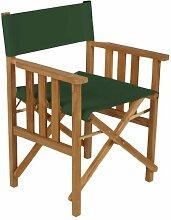 Shopisfy Wasserfest Innen Außen Direktor Sessel Ersatzabdeckung, Erhältlich in 16 Farben - Grün