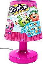 Shopkins 50515 Illumi-Mate Lippy Lips farbwechselnde Lampe, Kunststoff, rosa Nachttischlampe rose