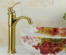 Shopping-Alle Kupfer Archaize Gilded Erschwerung Vanities Gold mit Schlauch-Hahn